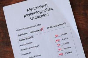 medizinisch- psychologische- Untersuchung